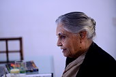 Former Chief Minister of Delhi and Congress leader Sheila Dikshit during an interview on February 17 2014 in New Delhi India