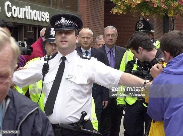 Former chief superintendent David Duckenfield right leaving Leeds Crown Court The fate of the match commander during the Hillsborough disaster was...