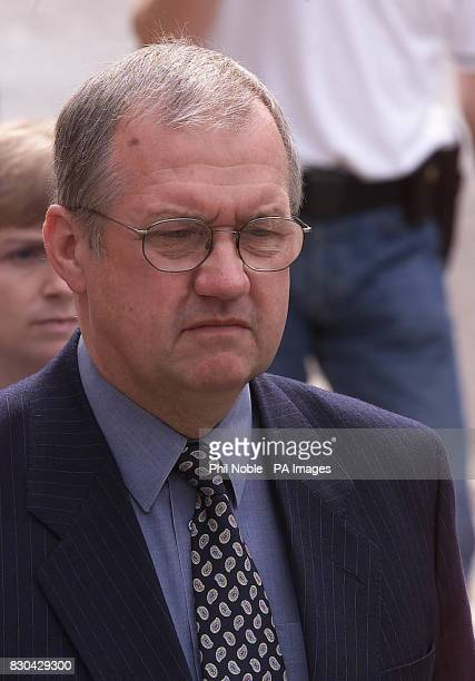 Former Chief Superintendent of South Yorkshire Police David Duckenfield arrives at Leeds Crown Court The police match commander accused of killing...