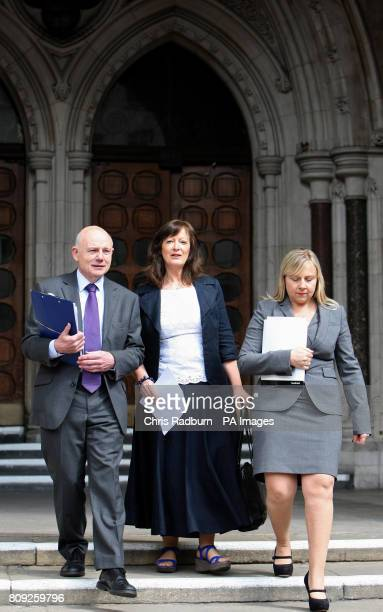 Former children's services boss Sharon Shoesmith pictured outside the High Court as she has won her Court of Appeal battle over her sacking following...