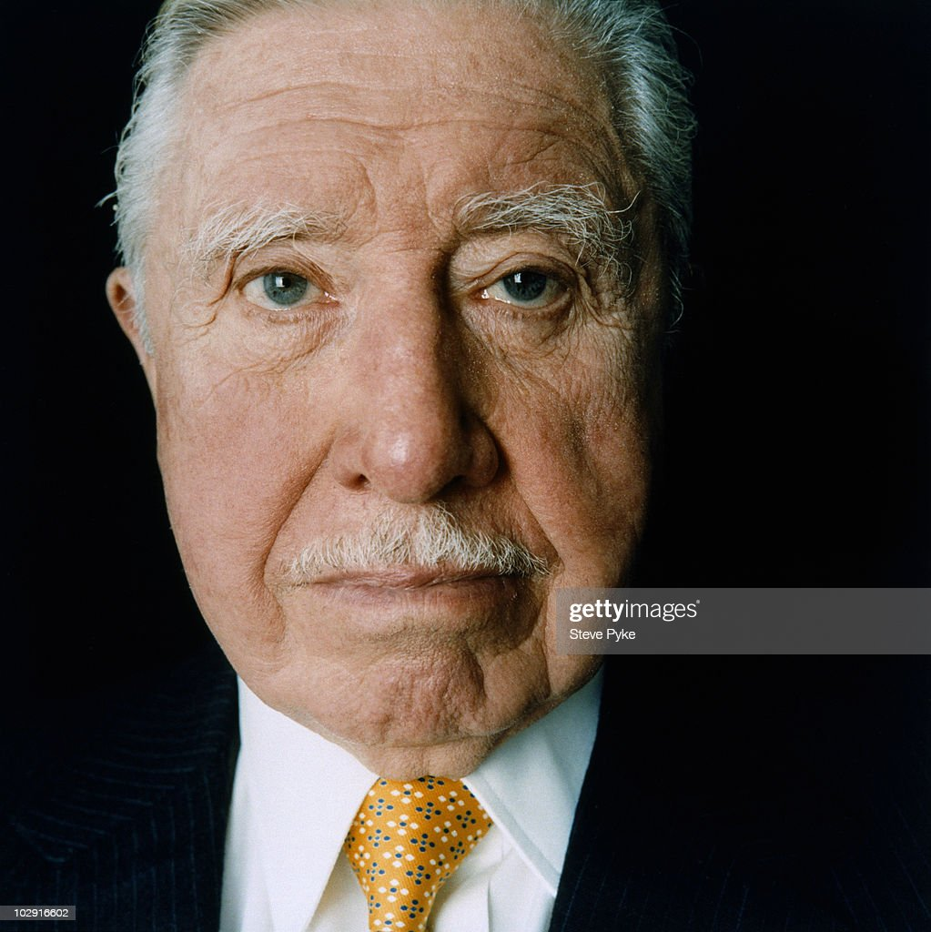 Former Chilean Dictator <a gi-track='captionPersonalityLinkClicked' href=/galleries/search?phrase=Augusto+Pinochet&family=editorial&specificpeople=93107 ng-click='$event.stopPropagation()'>Augusto Pinochet</a> poses for a portrait shoot in London, UK.