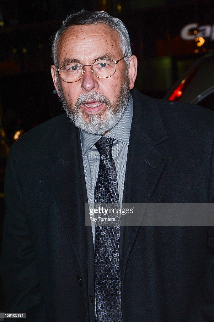 Former CIA agent Tony Mendez enters Cipriani 42nd Street on January 8, 2013 in New York City.
