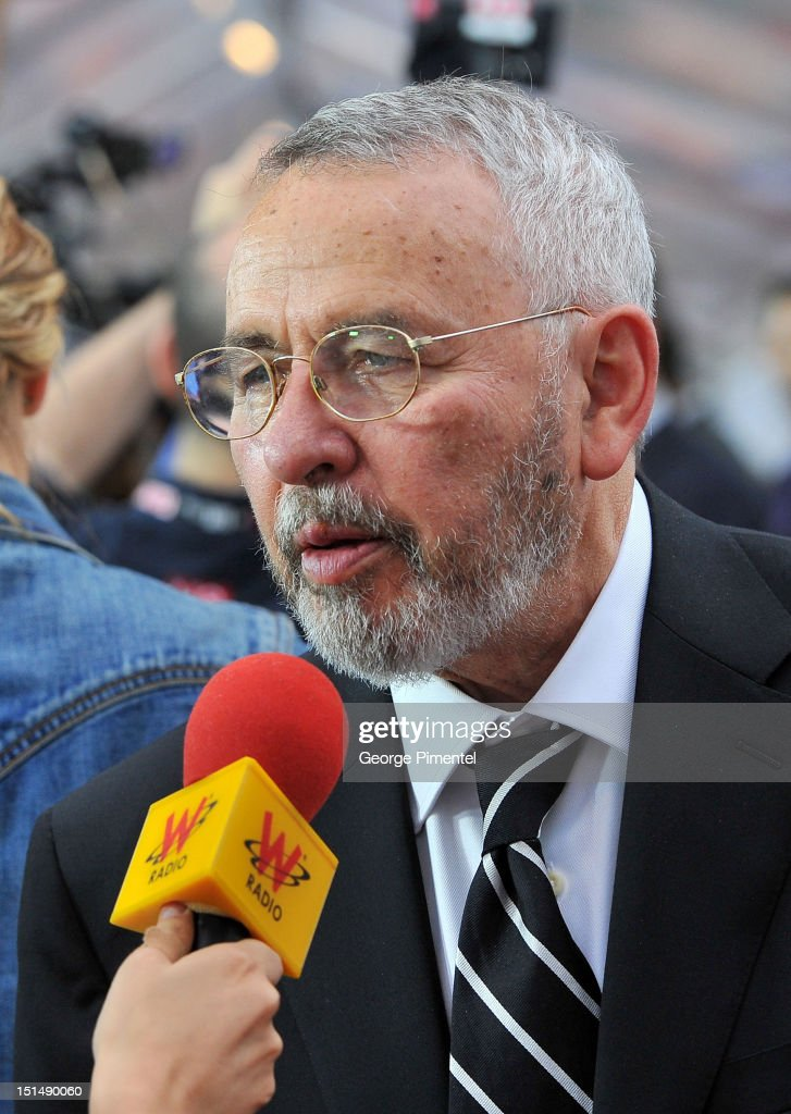 Former CIA Agent Tony Mendez is interviewed at the 'Argo' premiere during the 2012 Toronto International Film Festival at Roy Thomson Hall on September 7, 2012 in Toronto, Canada.