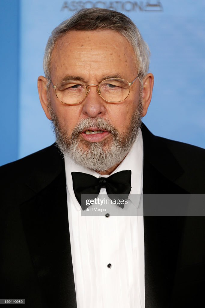 Former CIA agent Tony Mendez poses in the press room at the 70th Annual Golden Globe Awards held at The Beverly Hilton Hotel on January 13, 2013 in Beverly Hills, California.