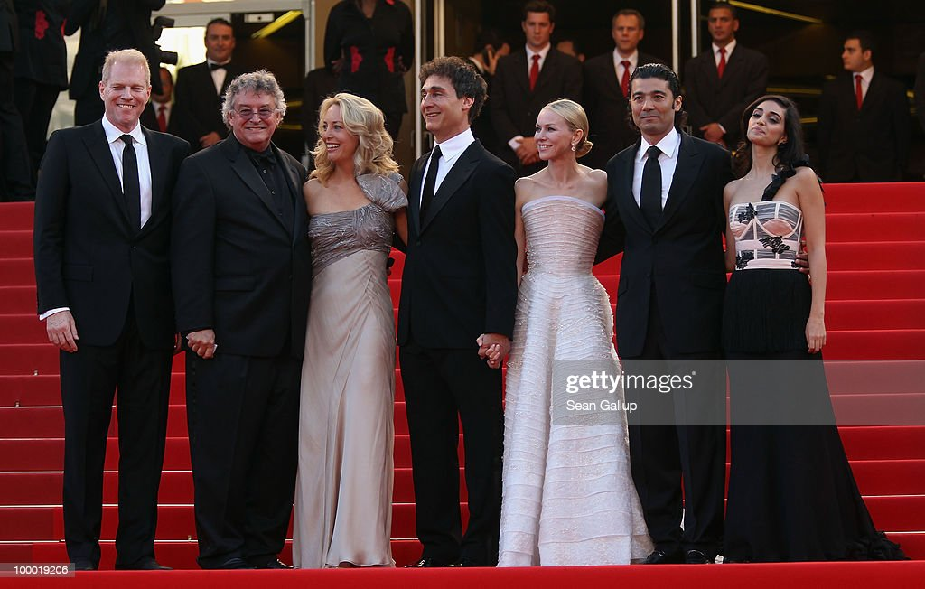 Former CIA agent Valerie Plame, director Doug Liman, actress Naomi Watts and actor Khaled Nabawy, actress Liraz Charhi attend the 'Fair Game' Premiere at the Palais des Festivals during the 63rd Annual Cannes Film Festival on May 20, 2010 in Cannes, France.