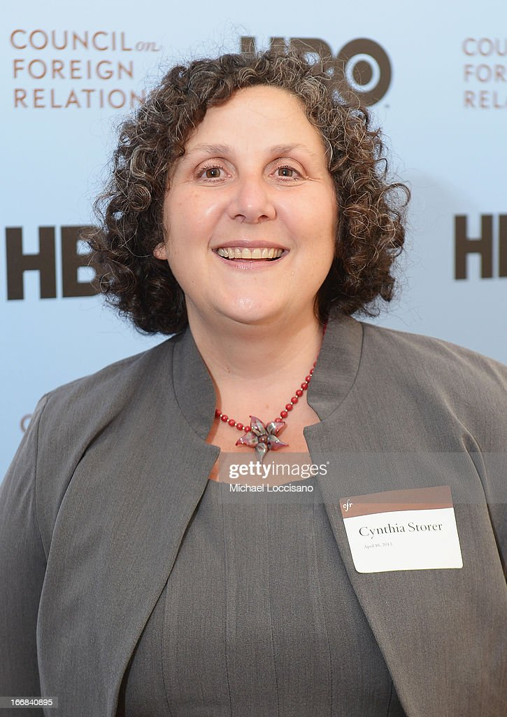 Former CIA analyst Cindy Storer attends the HBO Documentary Films special screening of 'Manhunt' at Council on Foreign Relations on April 16, 2013 in New York City.