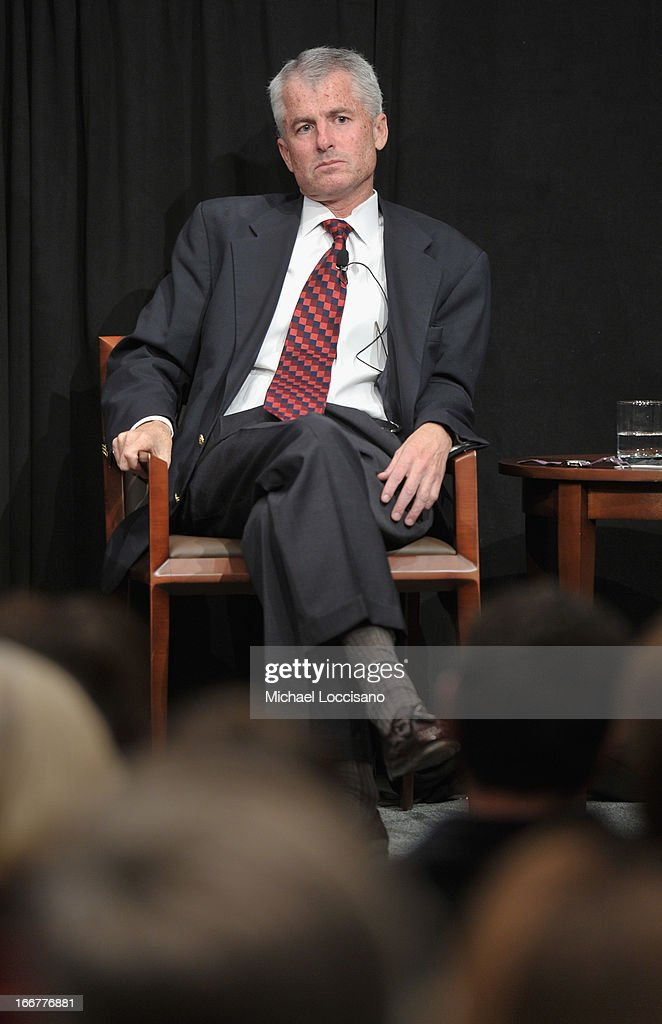 Former CIA Counterterrorist Center Deputy Director Phil Mudd takes part in a Q&A following the HBO Documentary Films special screening of 'Manhunt' at Council on Foreign Relations on April 16, 2013 in New York City.