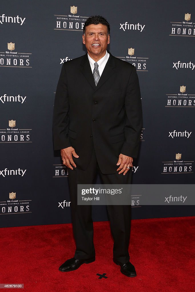 Former Cincinatti Bengals offensive tackle Anthony Munoz attends the 2015 NFL Honors at Phoenix Convention Center on January 31 2015 in Phoenix...