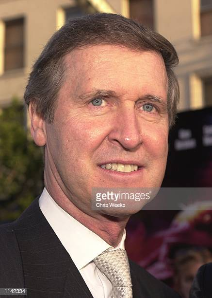 Former Clinton administration Secretary of Defense William Cohen arrives at the premiere of the Warner Bros film 'Driven' April 16 2001 at Mann's...