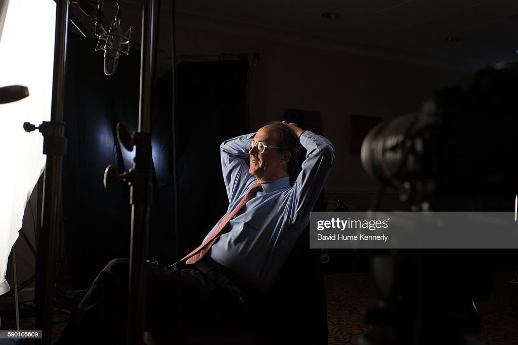 Former Clinton Chief of Staff Erskine Bowles is interviewed for 'The Presidents' Gatekeepers' documentary December 16 in Charlotte North Carolina