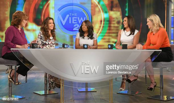 THE VIEW Former cohost of 'The View' Star Jones with Vanessa Williams and a performance from the cast of the Tony© nominated Broadway musical 'Come...