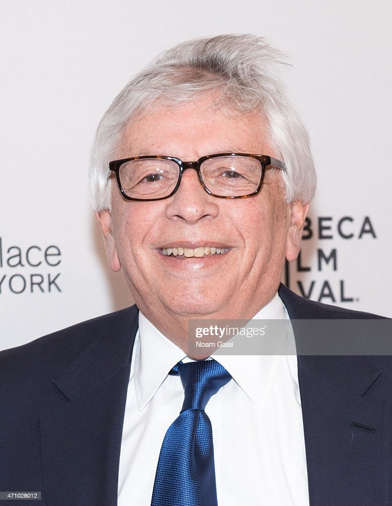 Former commissioner of the NBA <a gi-track='captionPersonalityLinkClicked' href=/galleries/search?phrase=David+Stern&family=editorial&specificpeople=206848 ng-click='$event.stopPropagation()'>David Stern</a> attends the 'Down In The Valley' premiere during the 2015 Tribeca Film Festival at SVA Theater 1 on April 24, 2015 in New York City.