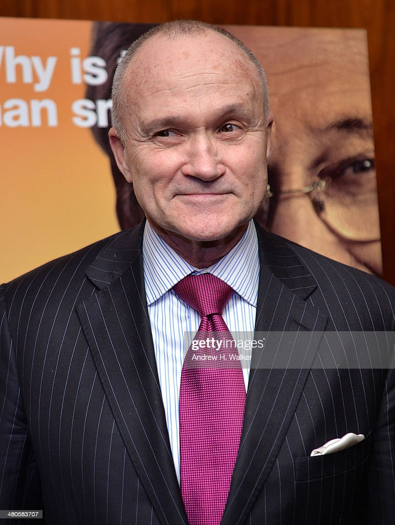 Former Commissioner of the New York City Police Department, Raymond Kelly attends the 'The Unknown Known' screening at Museum of Art and Design on March 25, 2014 in New York City.