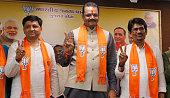 IND: Former Congress Gujarat MLA Alpesh Thakor Joins Bharatiya Janata Party