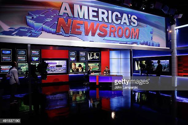 Former Congressman of Rhode Island Patrick J Kennedy visits FOX News' 'America's Newsroom' at FOX Studios on October 6 2015 in New York City