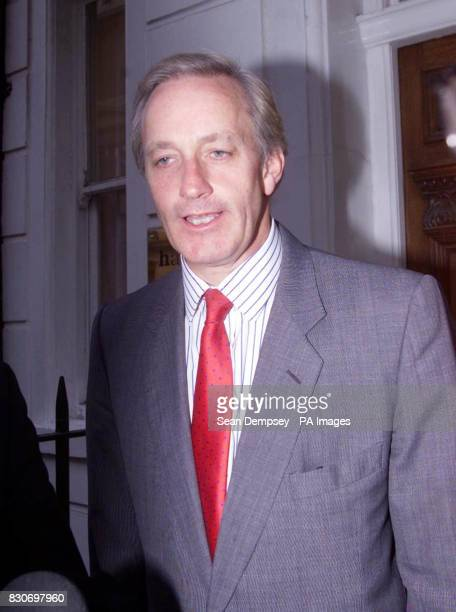 Former Conservative Minister Neil Hamilton outside the offices of his solicitor in central London after police dropped their investigation into...