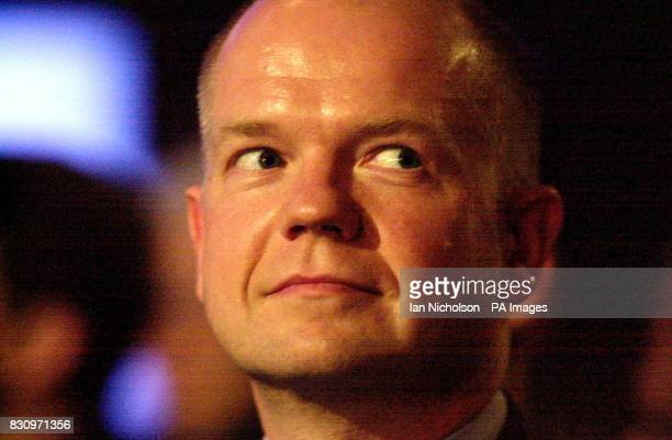 Former Conservative Party Leader William Hague on the first day of the Conservative Party Conference * Health Secretary Alan Milburn tonight attacked...