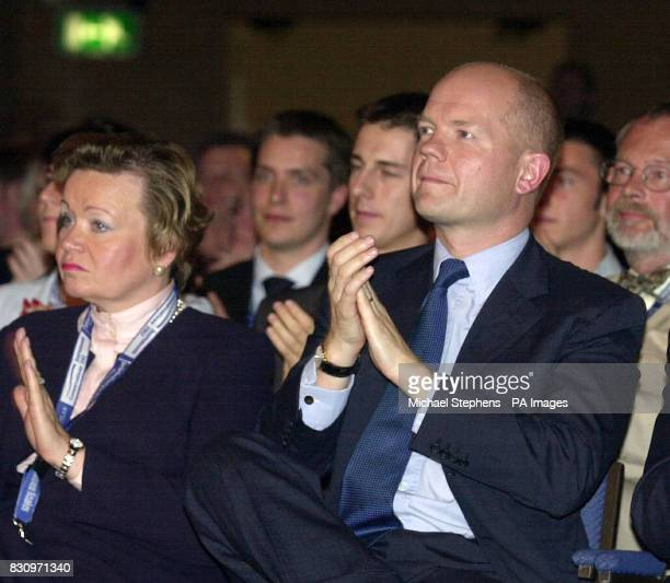 Former Conservative Party leaderWilliam Hague on the first day of the Conservative Party Conference * Health Secretary Alan Milburn attacked Tory...