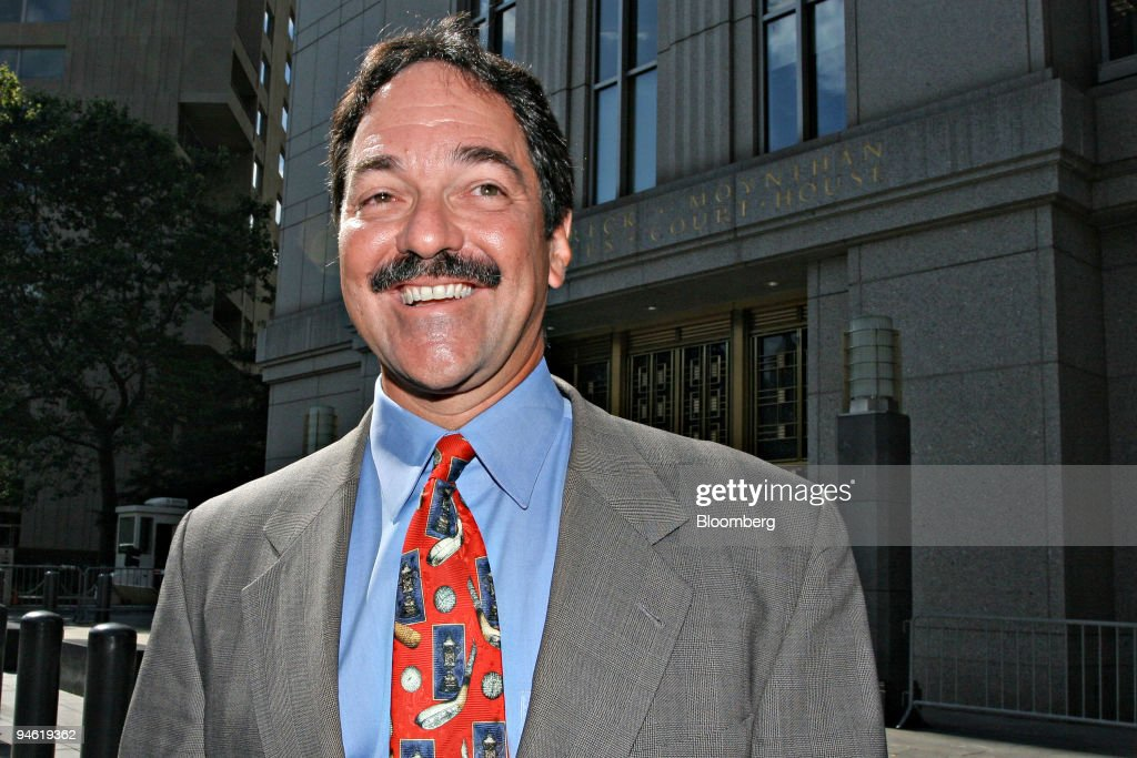 Former Credit Suisse Group investment banker Frank Quattrone leaves federal court in Manhattan Tuesday Aug 22 2006 A US judge formally approved a...