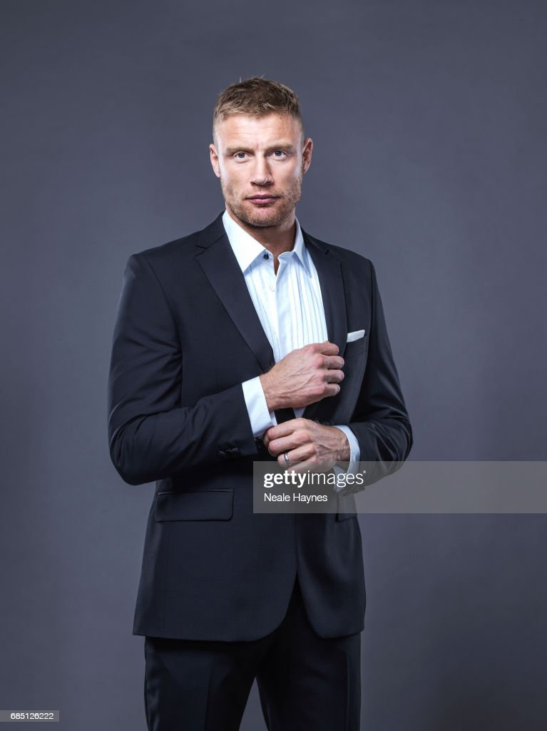Former cricketer Andrew Flintoff is photographed on November 2, 2016 in London, England.