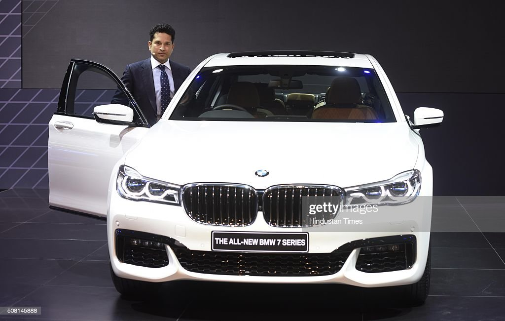 The Master Blaster with the All new BMW 7 series Fantastico February. Image Courtesy: GettyImages