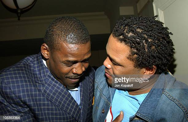 Former Dallas Cowboy Michael Irvin Anthony Anderson