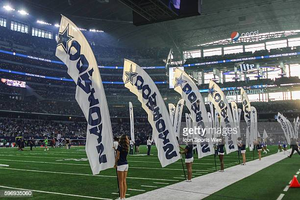 Former Dallas Cowboys Darren Woodson was honored during halftime into the Dallas Cowboys Ring of Honor during the game between the Dallas Cowboys and...
