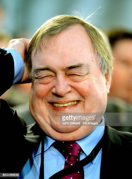 Former Deputy Leader John Prescott at the ExCel Centre in Docklands in east London during a special conference on reforms to the Labour Party