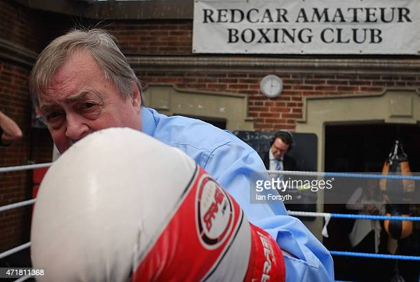 Former Deputy Leader of the Labour Party and Deputy Prime Minister Lord John Prescott climbs into the ring as he joins Labour candidate Anna Turley...