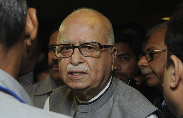 BJP Leader LK Advani At Launch Of First Issue Of The