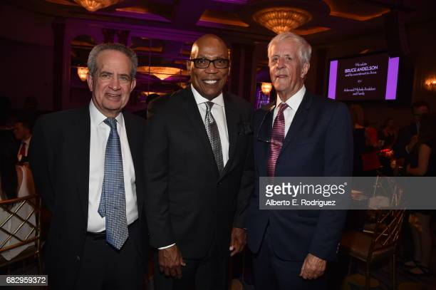 Former DGA Executive Director Jay Roth Honoree Paris Barclay and director Muchael Apted attend Aviva Family And Children's Services' A Gala at the...