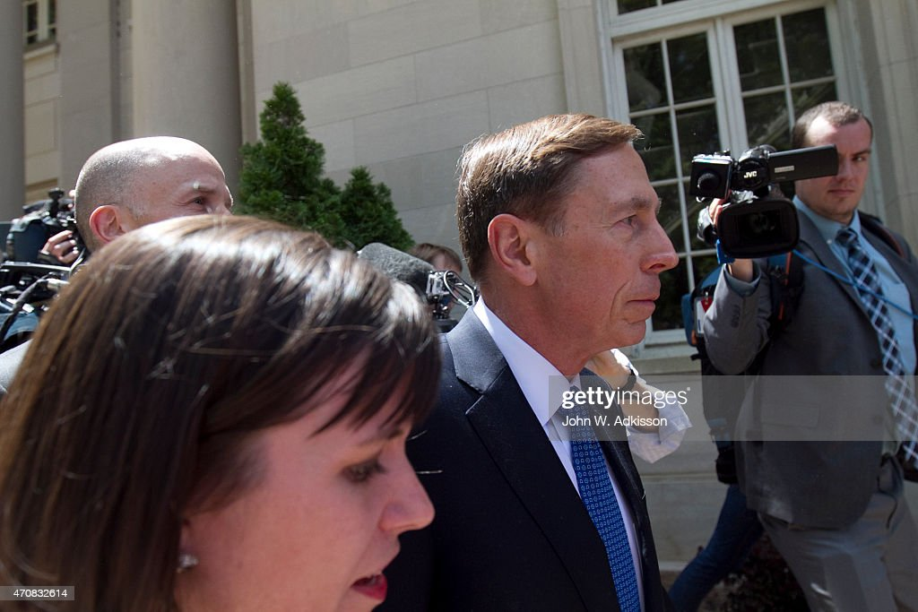 Former Gen. David Petraeus Sentenced For Giving Classified Information To Mistress