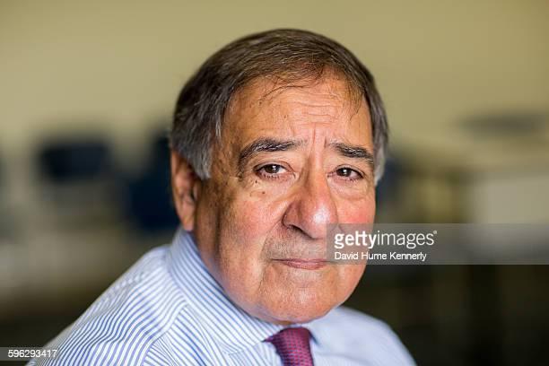 Former Director of the Central Intelligence Agency under President Barack Obama Leon Panetta at the Panetta Institute Seaside California 2015 Panetta...