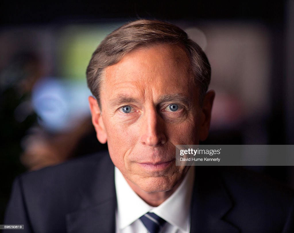 Former Director of the Central Intelligence Agency (DCIA) under President Barack Obama, Gen. <a gi-track='captionPersonalityLinkClicked' href=/galleries/search?phrase=David+Petraeus&family=editorial&specificpeople=175826 ng-click='$event.stopPropagation()'>David Petraeus</a> interviewed for the documentary, 'The Spymasters,' about CIA Directors for CBS/Showtime. With producers Chris Whipple, Gedeon and Jules Naudet, New York, New York, July 22, 2015.