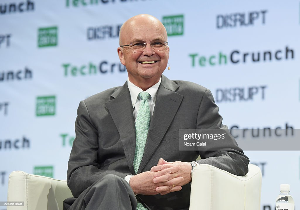 Former Director of the NSA and CIA General Michael Hayden speaks onstage during TechCrunch Disrupt NY 2016 at Brooklyn Cruise Terminal on May 11 2016...