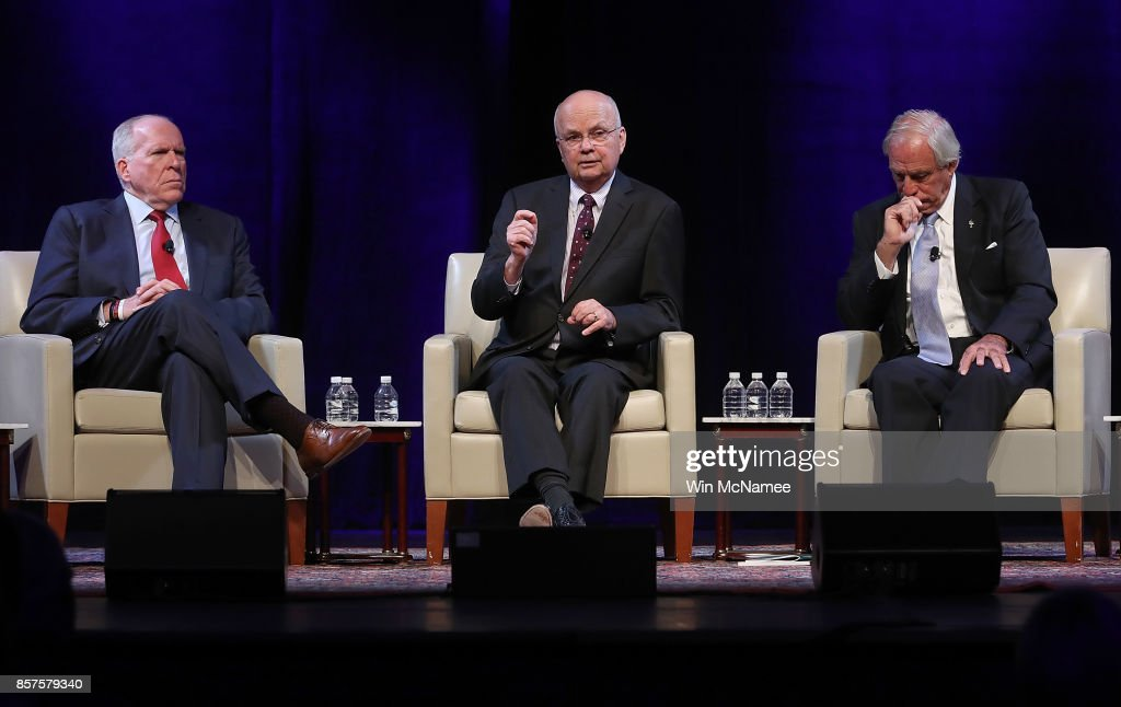Current CIA Director Mike Pompeo And Five Former CIA Directors Speak At National Security Conference