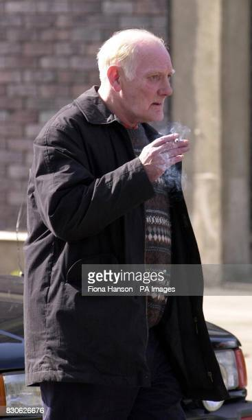 Former dissident republican Patrick McDonnell leaves Dacorum Magistrates Court in Hemel Hempstead Hertfordshire where he faces a charge of harassing...