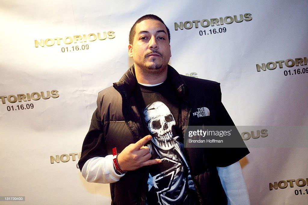 Former DJ P-Stew attends a screening of 'Notorious' January 13, 2009 in Washington, DC. The film, to be released January 16, is about the life of hip-hop artist Notorious B