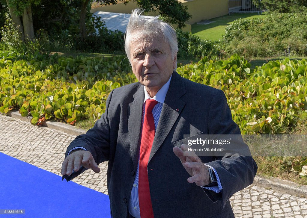 Former ECB President Jean Claude Trichet arrives to participate in the ECB Forum on Central Banking on June 27, 2016 in Sintra, Portugal. The third annual European Central Bank Forum on Central Banking focuses on 'The future of the international monetary and financial architecture', a key topic of debate among economists and policymakers. Some 150 central bank governors, academics, financial journalists and high-level financial market representatives will discuss current policy issues and the chosen topic from a longer-term perspective.