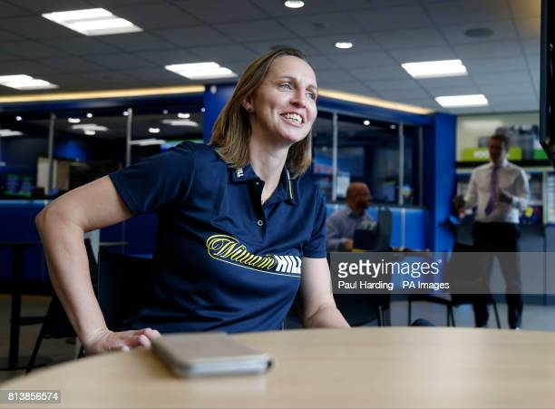 Former England footballer Faye White during a photocall at the William Hill betting store on High Road Wembley PRESS ASSOCIATION Photo Picture date...