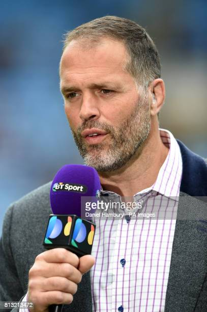 Former England Rugby player and BT Sport presenter Martin Bayfield