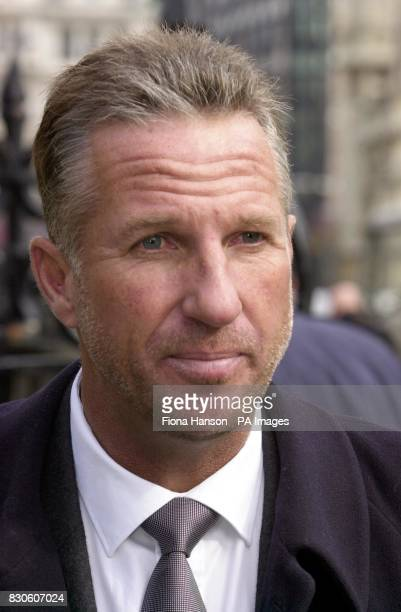 Former England sportsmen cricket hero Ian Botham in Westminster London Jeremy Guscott will be following in the footsteps of Botham who has walked...