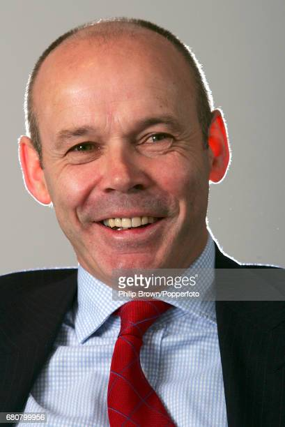 Former English Rugby Union player and coach Sir Clive Woodward during an interview at Windsor near London on the 27th January 2005
