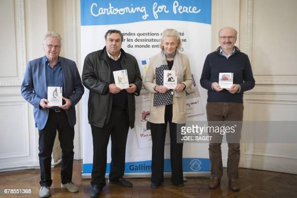 Former European MP Daniel CohnBendit French historian Benjamin Stora French philosopher Elisabeth Badinter and and French journalist Eric Fottorino...