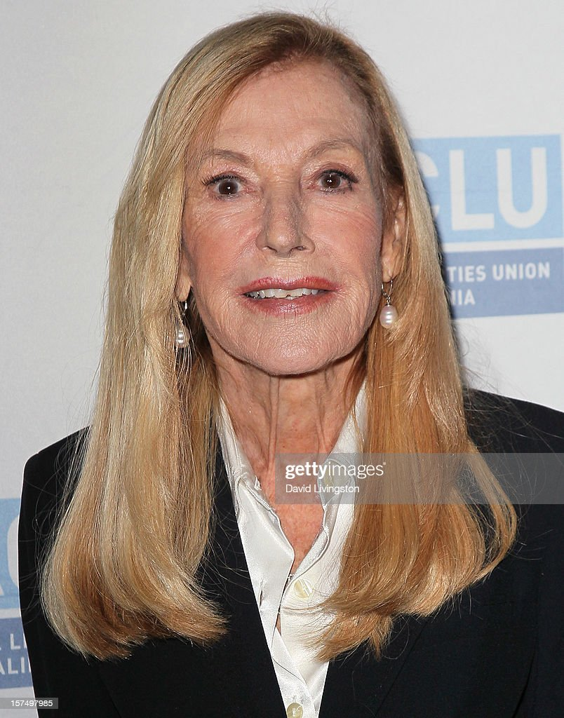 Former executive director of the ACLU of Southern California Ramona Ripston attends the ACLU of Southern California's 2012 Bill of Rights Dinner at the Beverly Wilshire Four Seasons Hotel on December 3, 2012 in Beverly Hills, California.