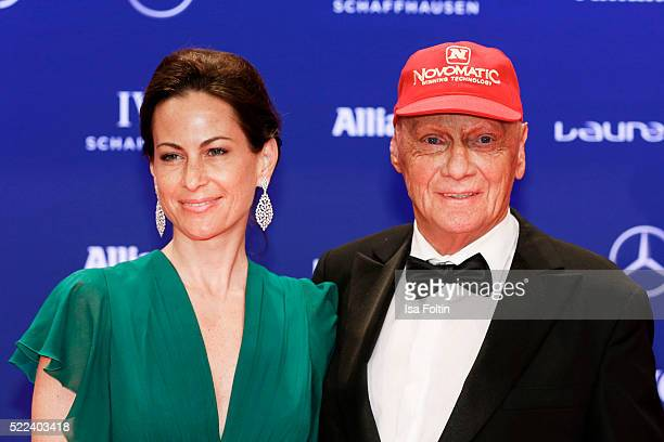 Niki Lauda Wife Stock Photos And Pictures