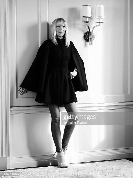 Former fashion model Penelope Tree is photographed for NetAPorter on June 20 2013 in London England
