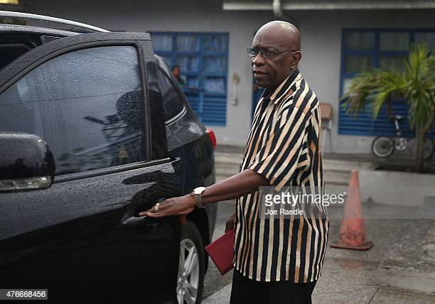 Former Fifa vicepresident Jack Warner walks out of the Arouca Police Station after checking in as required under his bail agreement on June 11 2015...