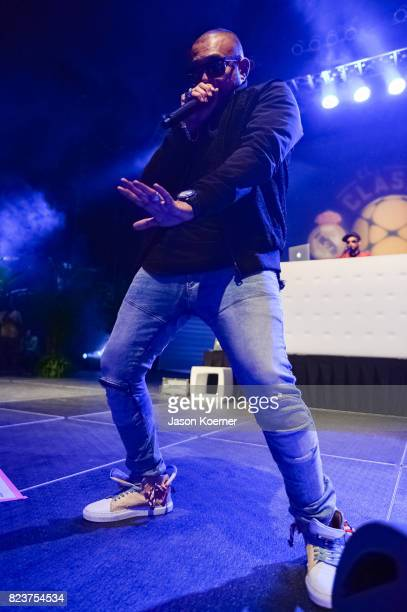 Former FIFA World Player of the Year Luis Figo Hosts the International Champions Cup official El Clsico Miami VIP Party with special performance by...