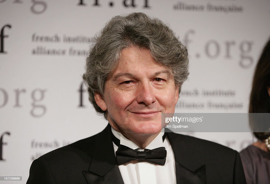 Former Finance Minister of France <a gi-track='captionPersonalityLinkClicked' href=/galleries/search?phrase=Thierry+Breton&family=editorial&specificpeople=536439 ng-click='$event.stopPropagation()'>Thierry Breton</a> attends 2012 Trophee Des Arts Gala at The Plaza Hotel on November 30, 2012 in New York City.